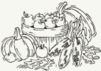Autumn Coloring Pages, A perfect activity for Kids During The Harvest Season