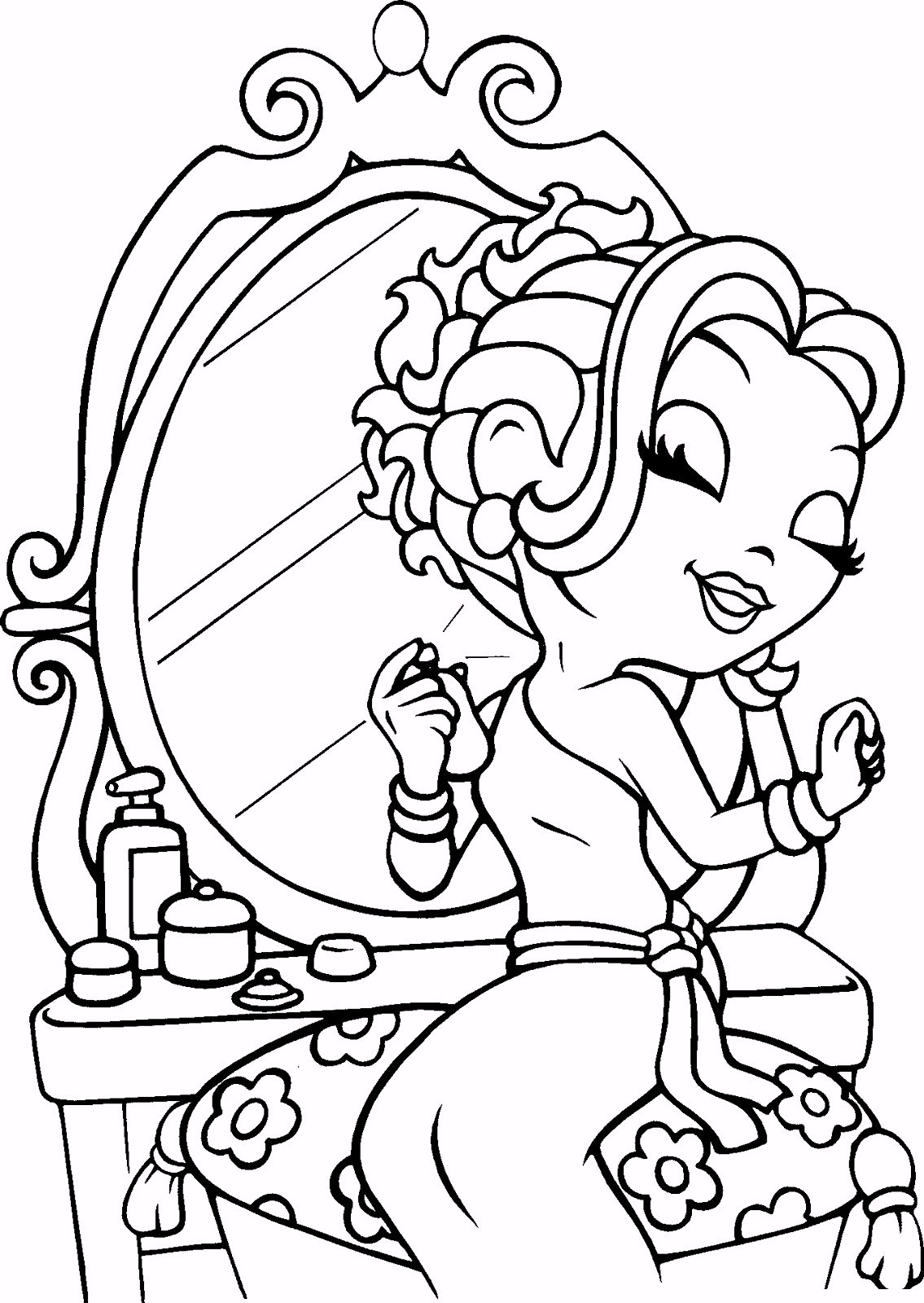 lisa-frank-coloring-pages