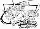 Power Ranger 2017 The Movie Coloring Pages