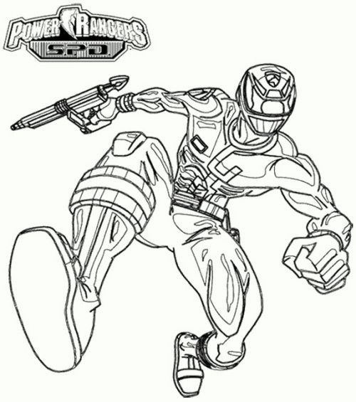 power rangers 2017 coloring pages 04