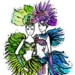 Fashion Carnival Coloring Pages