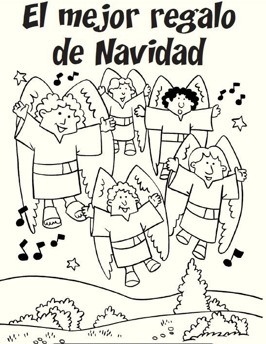 christmas coloring pages spanish feliz navidad coloring pages