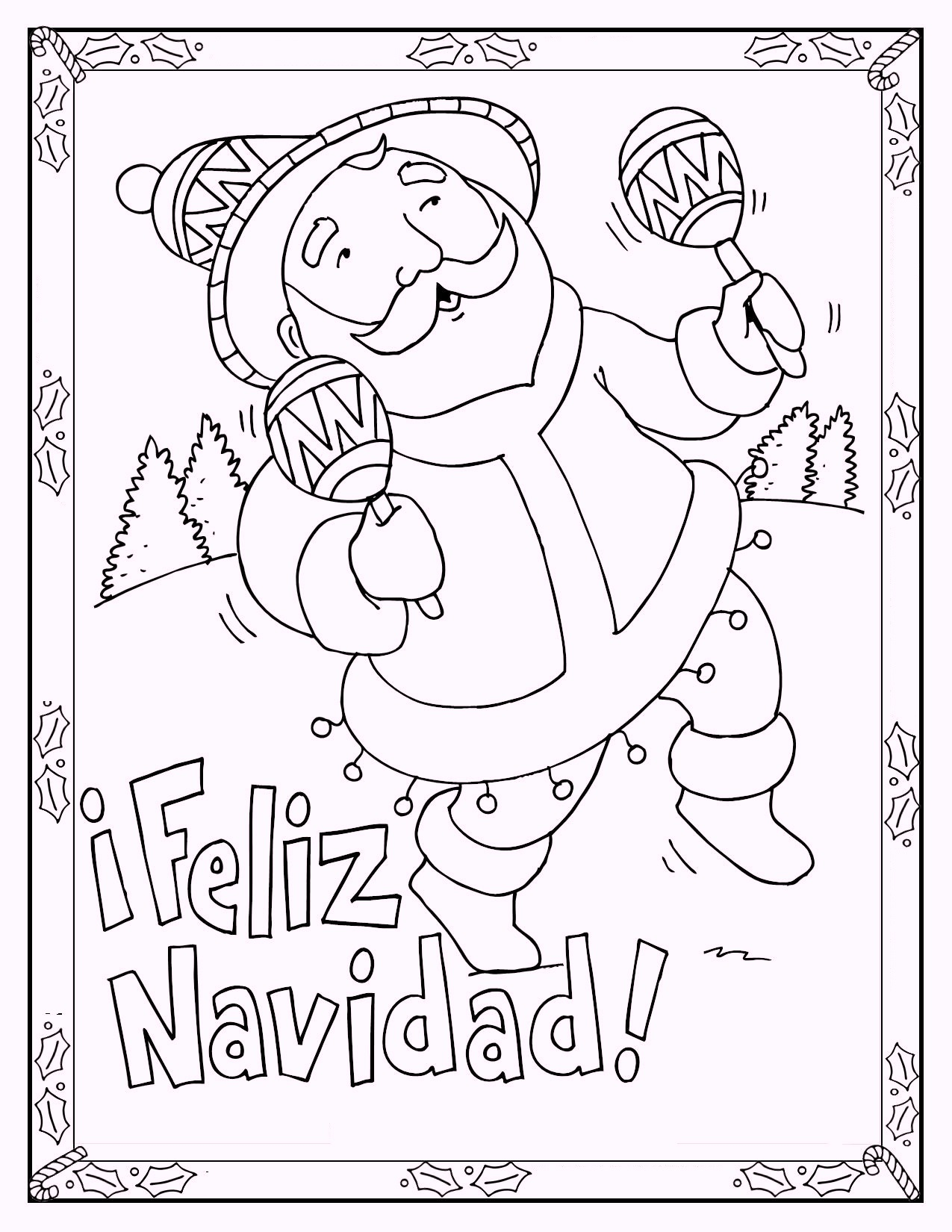 feliz_navidad_christmas_in_spain_coloring_page