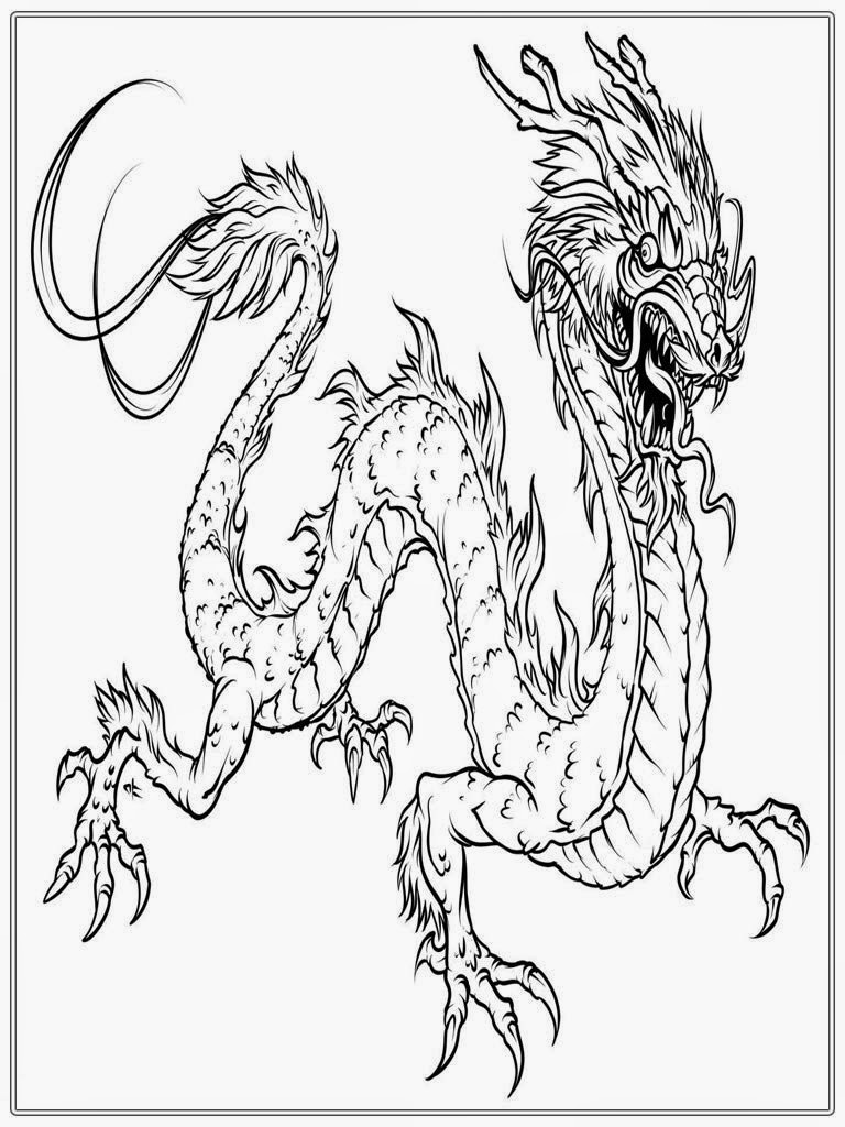 New year chinese dragon coloring pages for Chinese new year dragon coloring page