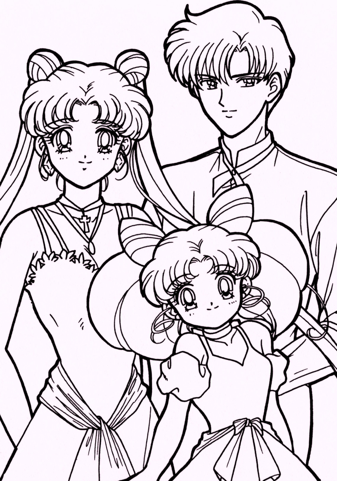 coloring pages sailor moon sailor moon coloring 04