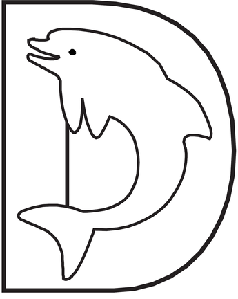 d-for-dolphin-alphabet-coloring-pages