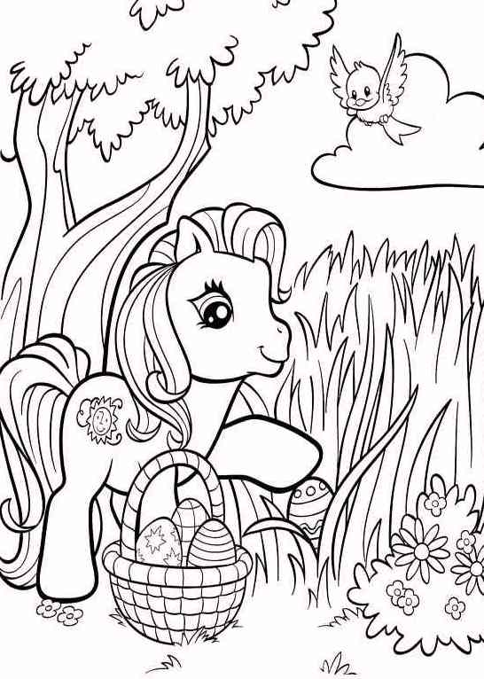 easter-my-little-pony-coloring-pages