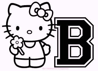 hello-kitty-alphabet-b-coloring-pages