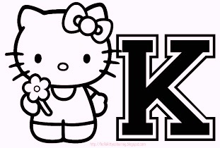 hello-kitty-alphabet-k-coloring-pages