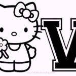 hello-kitty-alphabet-v-coloring-pages