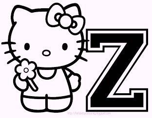 hello-kitty-alphabet-z-coloring-pages