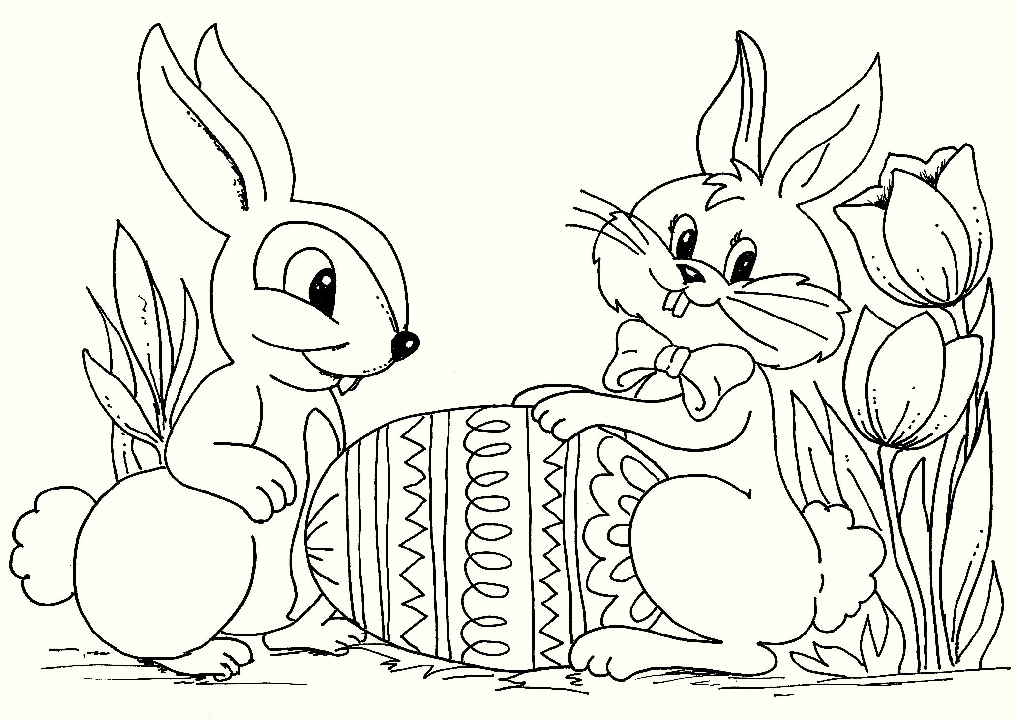 unique-easter-coloring-pages