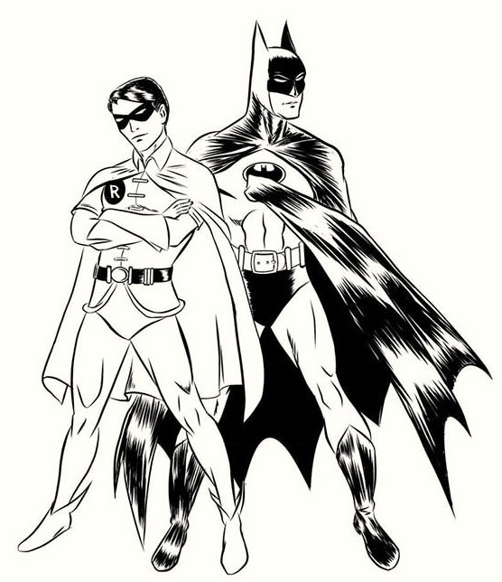 Batman-and-Robin-Coloring-Page-for-Kids