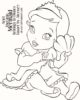 Baby Ariel The Little Mermaid Coloring Pages