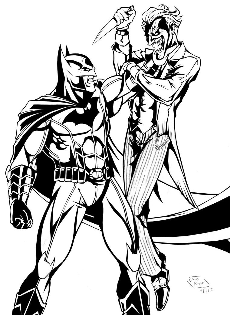 Uncategorized Batman And Joker Coloring Pages the batman adventures mad love coloring page pages