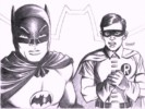 Robin and Batman Coloring Pages for Boys