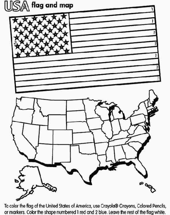usa-flag-and-map-coloring-page