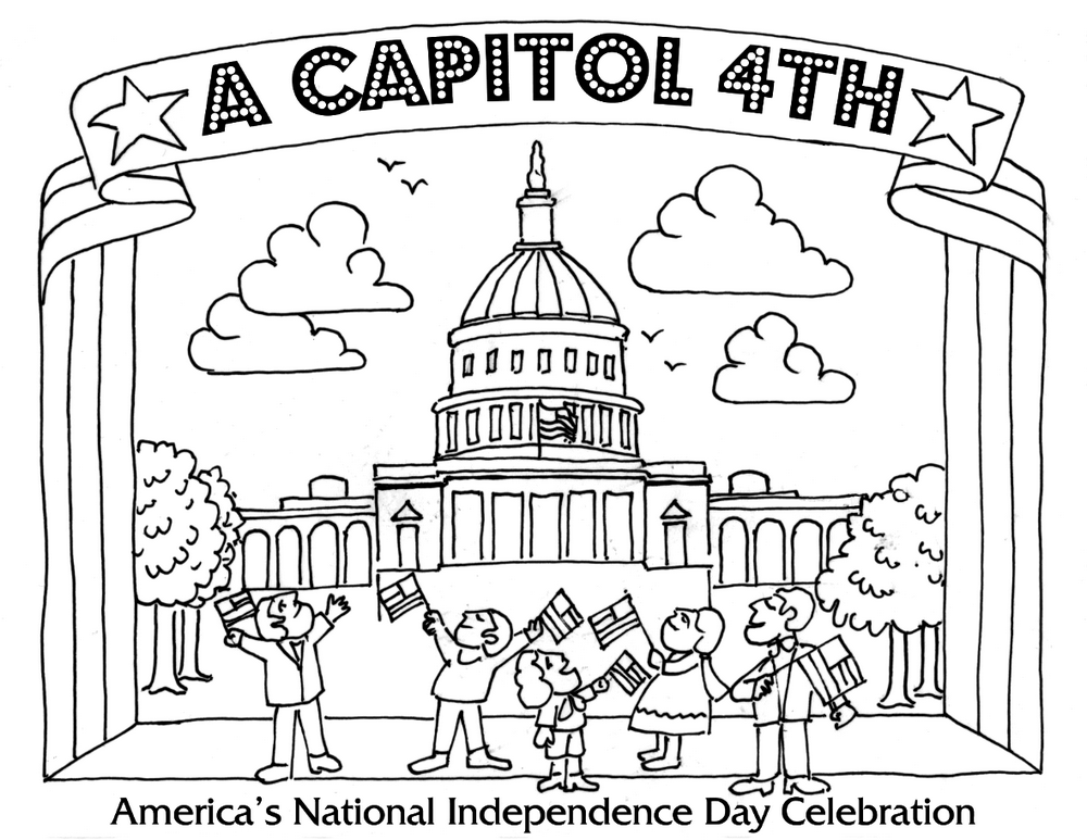 4th-July-America's-National-independence-day-coloring-page