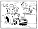 Top 11 Fun Farm Machinery Coloring Pages