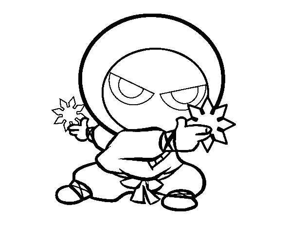 cute-ninja-kid-coloring-page
