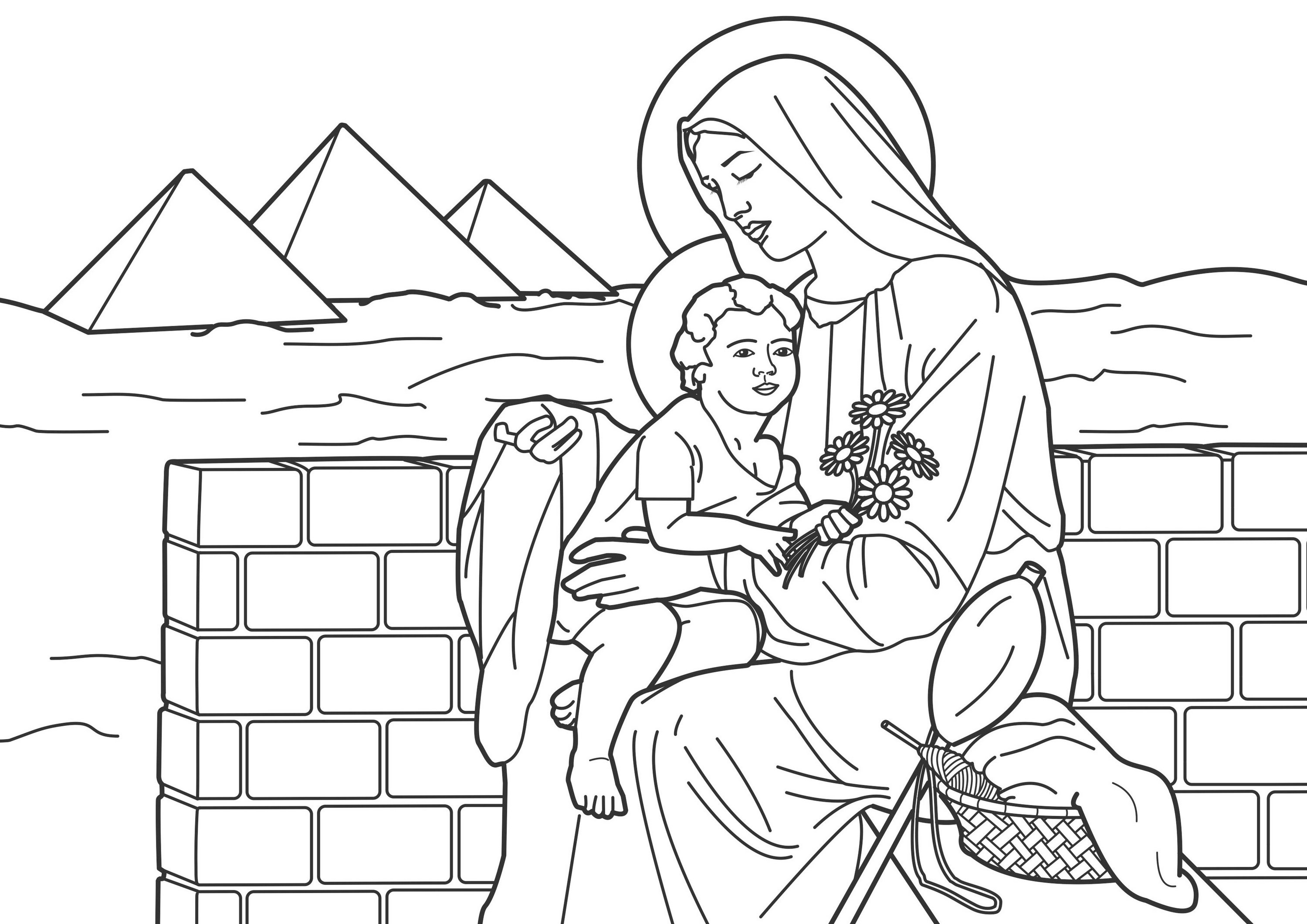 virgin-mary-coloring-book-printable