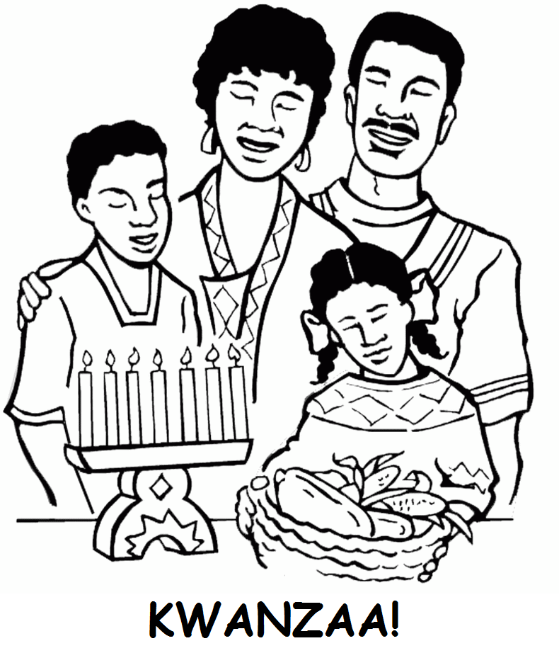 The Best 8 Kwanzaa Coloring Pages - Coloring Pages