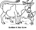Letter C Coloring Pages for Preschoolers