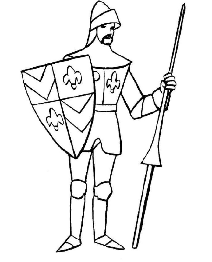 Best-Knight-Coloring-Page-printable