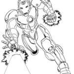 Iron-Man-superhero-coloring-book