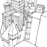 Lego-city-building-coloring-page