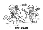 The Best Lego Police Coloring Pages