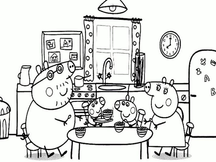 Peppa-pig-family-coloring-book
