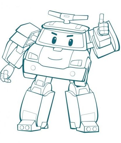 Robocar-poli-cover-coloring-sheet
