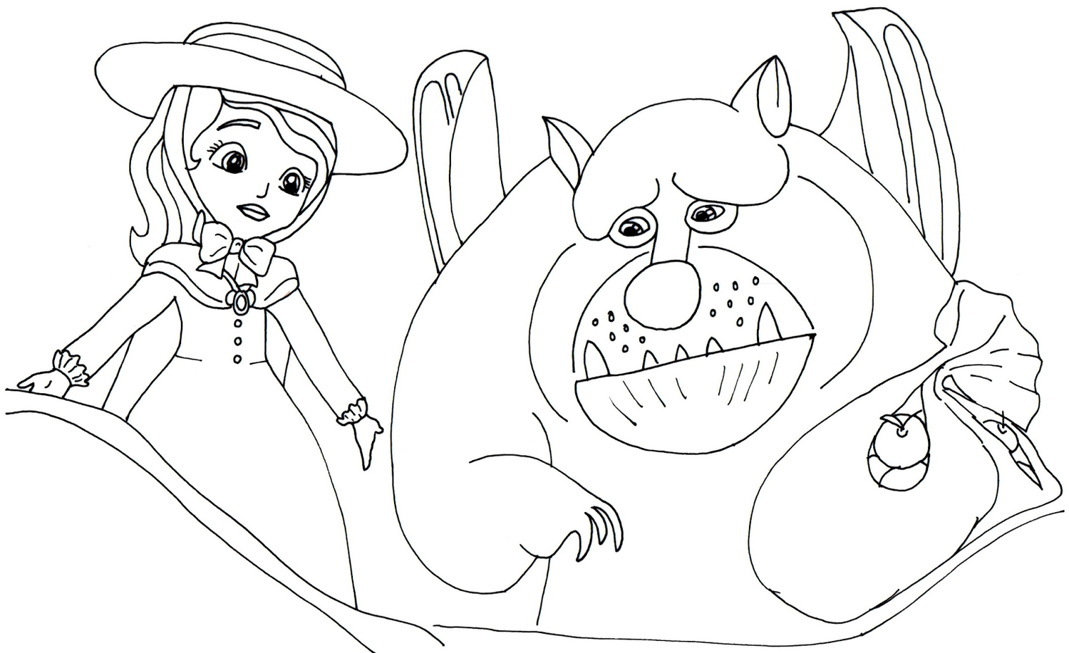 Sofia-the-first-coloring-picture-