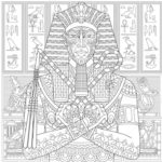 ancient-pharaoh-coloring-page
