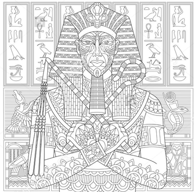 ancient-pharaoh-coloring-page