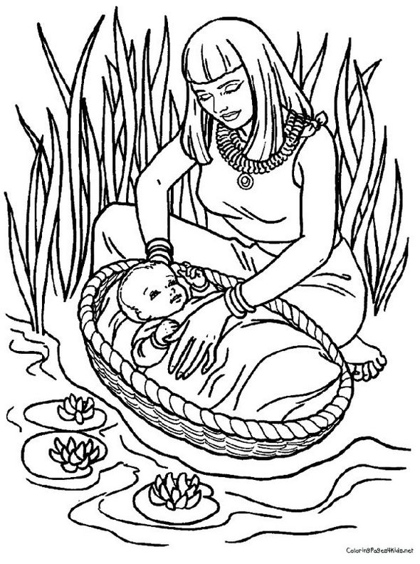 baby-moses-colouring-books