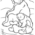 bear-family-winter-animal-coloring-page