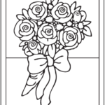 bouquet-of-roses-for-wedding-coloring-page-printable