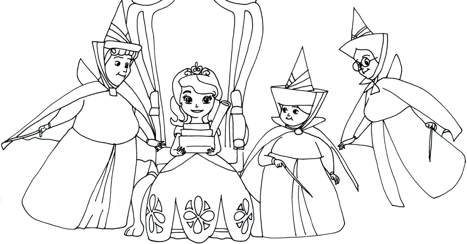 sofia the first coloring pages coloring pages