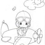 cute-pilot-coloring-page