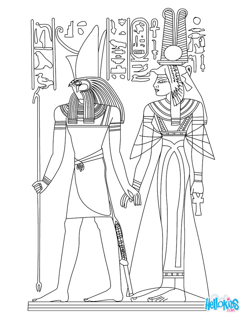 egypt-kingdom-coloring-picture