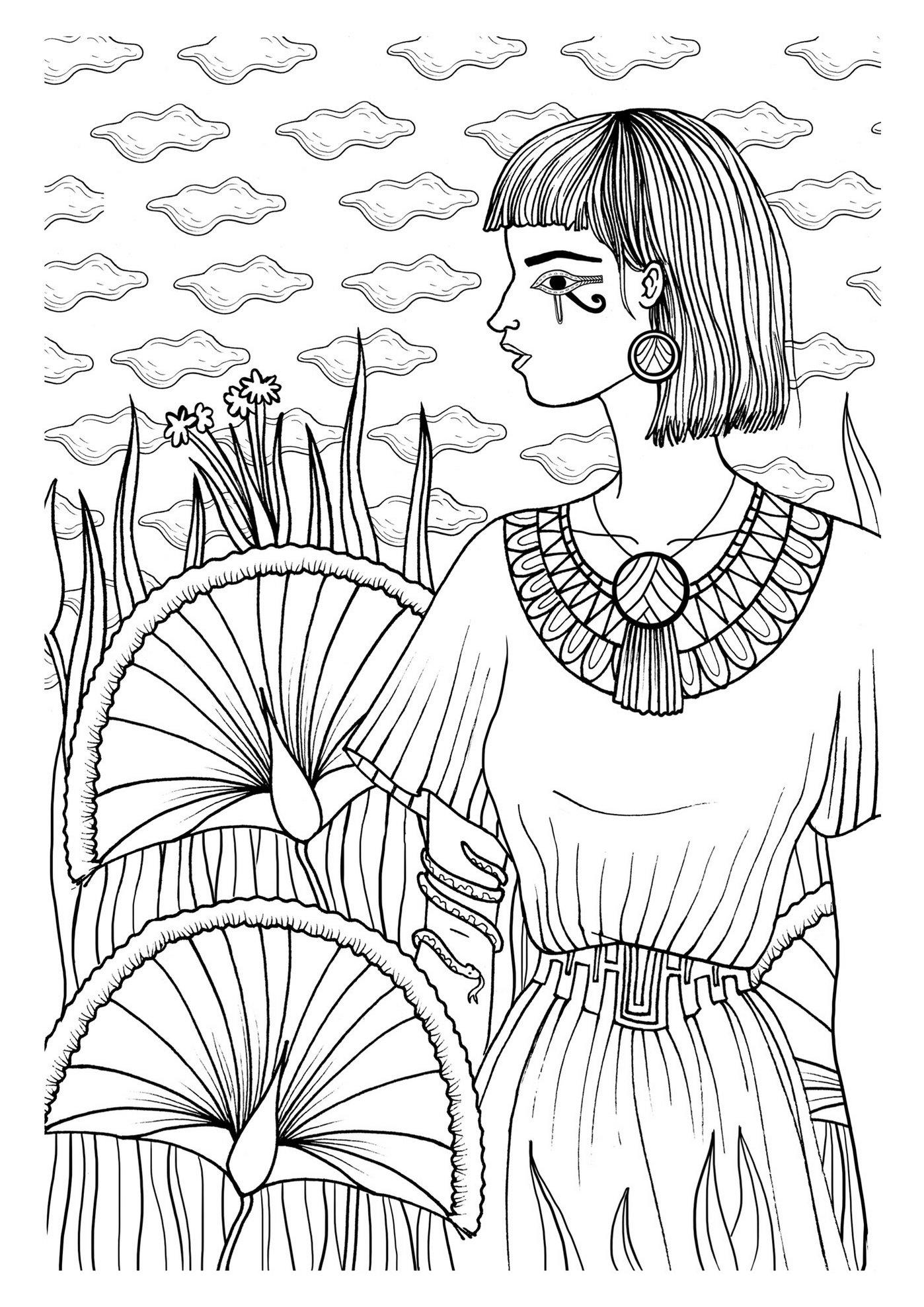 egyptian-mandala-coloring-book