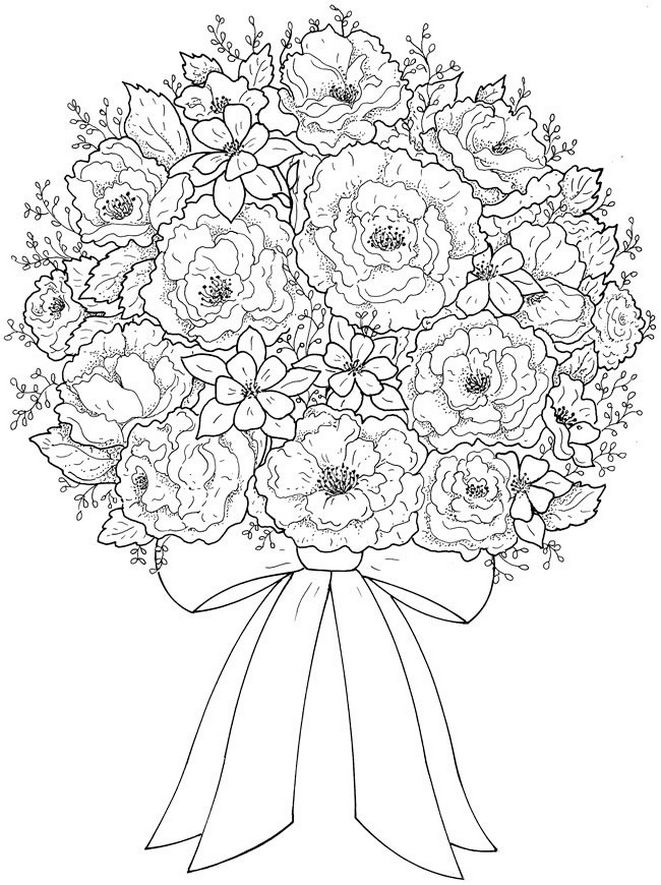 flower-bouquet-coloring-book