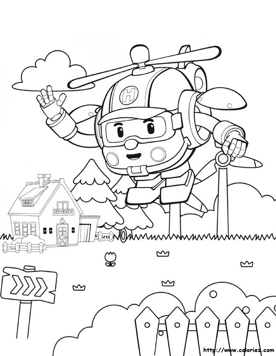 heli-robocar-poli-colouring-page