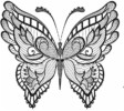 Top 12 Intricate Butterfly Coloring Pages