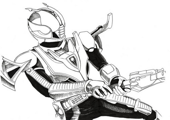 kamen-rider-coloring-sheet-printable