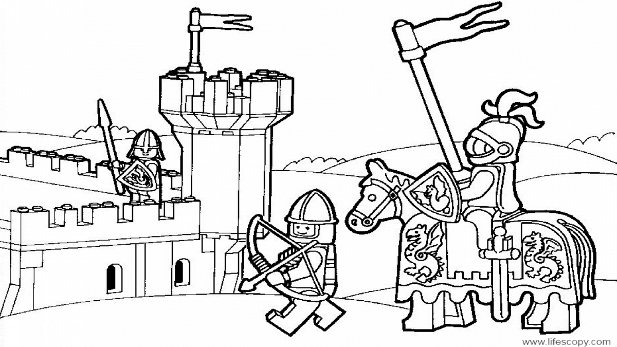 lego-castle-colouring-books-for-kids