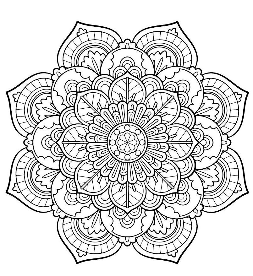 mandala-flower-coloring-picture