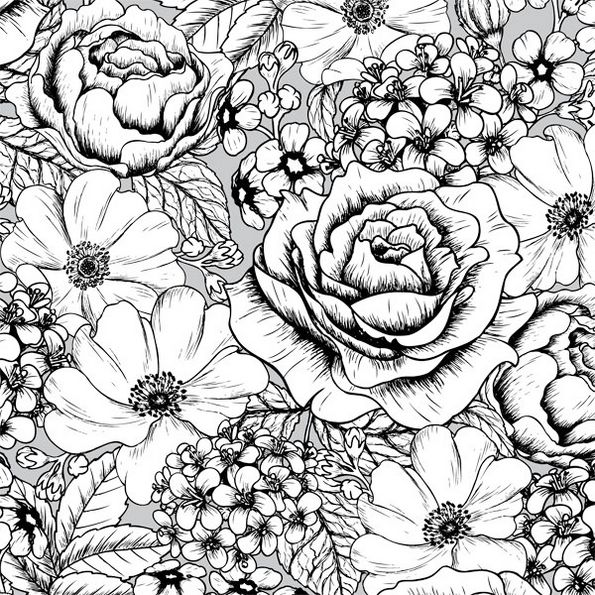 pattern-intricate-flower-coloring-page